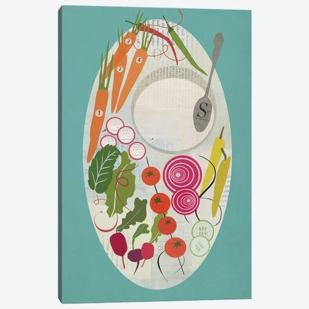 Winter Salad Canvas Print #SJR81} by Sarah Jarrett Canvas Print