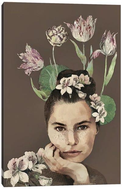 Flora Canvas Art Print