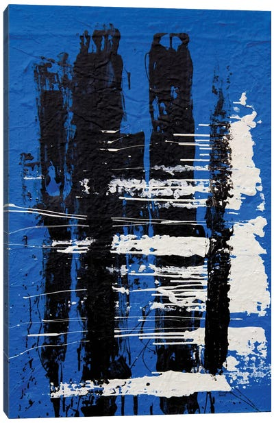 Somber #2 Canvas Art Print