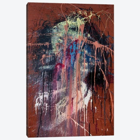 The Wretched Heart Canvas Print #SJS49} by Shawn Jacobs Canvas Artwork