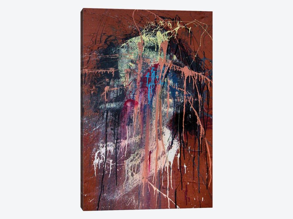 The Wretched Heart by Shawn Jacobs 1-piece Canvas Print