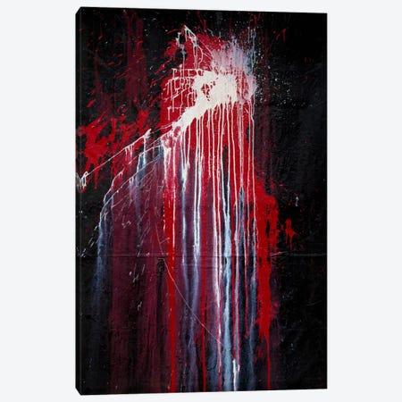 Bury the Life 3-Piece Canvas #SJS66} by Shawn Jacobs Canvas Art Print
