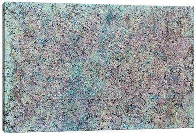Mist Composition in Azure Canvas Print #SJS76