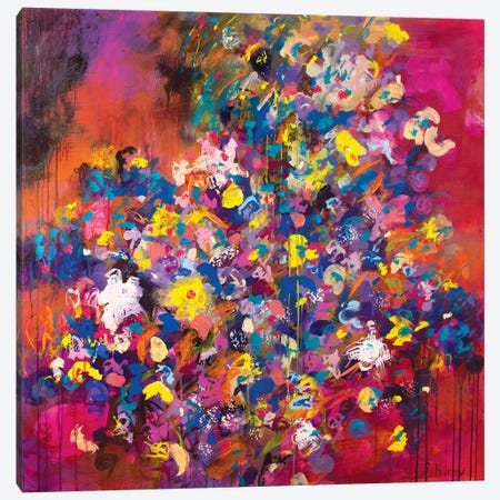 Carnival Canvas Print #SKB15} by Stefanie Kirby Canvas Wall Art