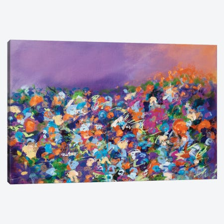Dusk Awaiting Canvas Print #SKB17} by Stefanie Kirby Canvas Wall Art
