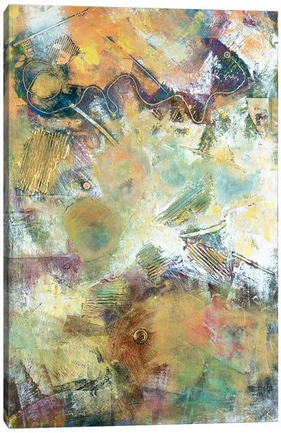 Excavation Canvas Art Print