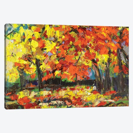 Fall Canvas Print #SKB23} by Stefanie Kirby Canvas Artwork