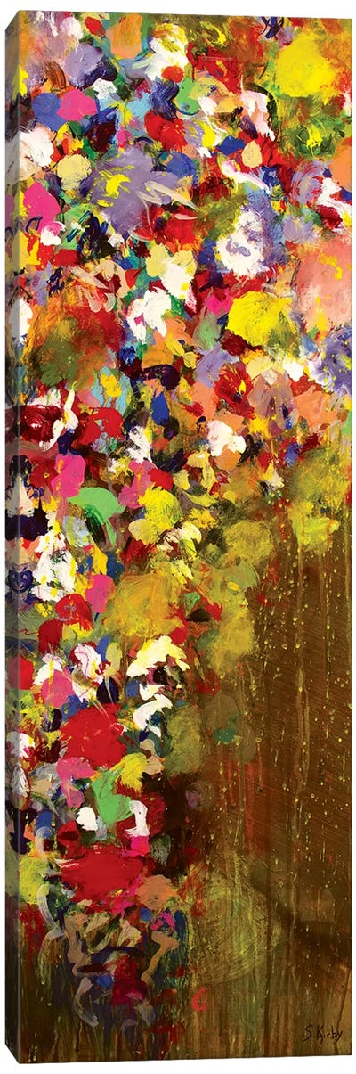 Floral Cascade Canvas Art Print