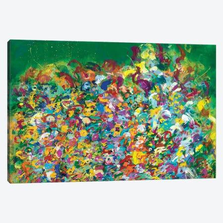 Friday Frolic Canvas Print #SKB26} by Stefanie Kirby Art Print