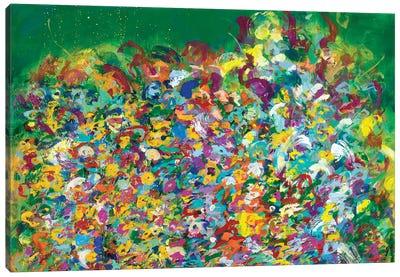Friday Frolic Canvas Art Print