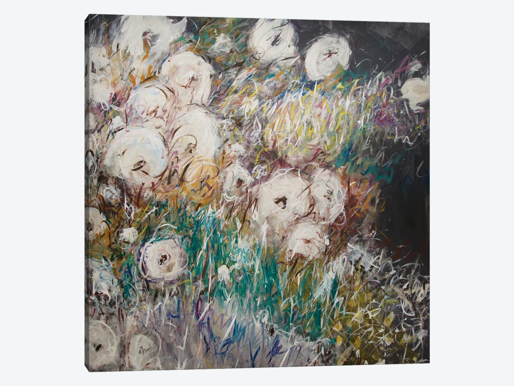 Gardening With Bees by Stefanie Kirby 1-piece Canvas Print