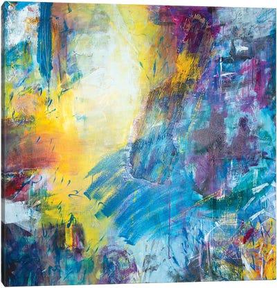 Smoke Screen Canvas Art Print
