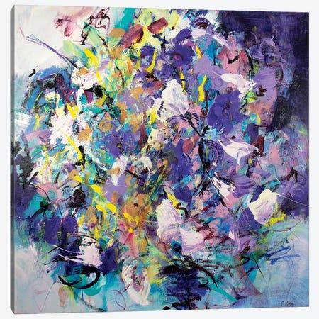 The Nights Rhythm Canvas Print #SKB44} by Stefanie Kirby Canvas Print