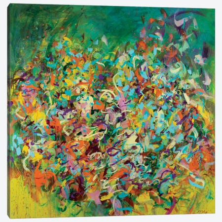Verve Canvas Print #SKB46} by Stefanie Kirby Art Print