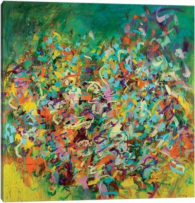 Verve Canvas Art Print