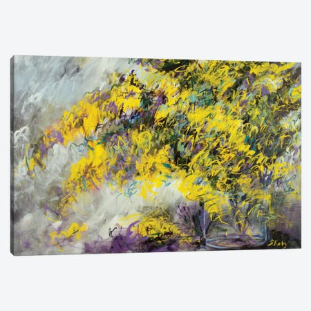 Yellow Bliss Canvas Print #SKB50} by Stefanie Kirby Canvas Print