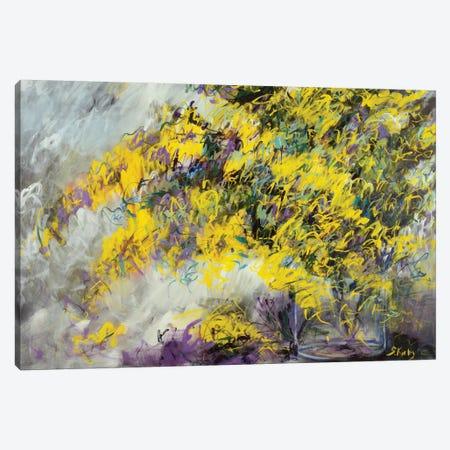 Yellow Bliss Canvas Print #SKB50} by Stefanie Kirby Canvas Print