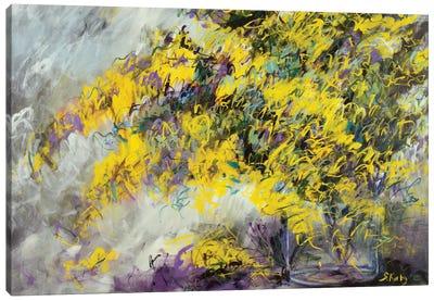 Yellow Bliss Canvas Art Print