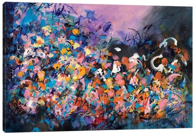Midnight Madness Canvas Art Print