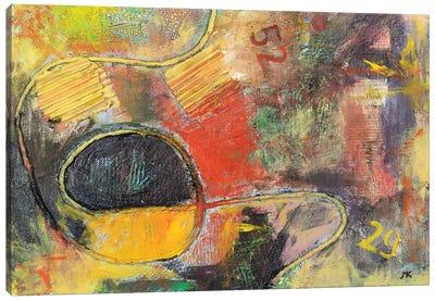 Bus Route Canvas Art Print