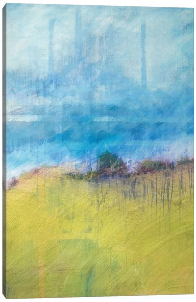 Interwoven Landscape Canvas Art Print
