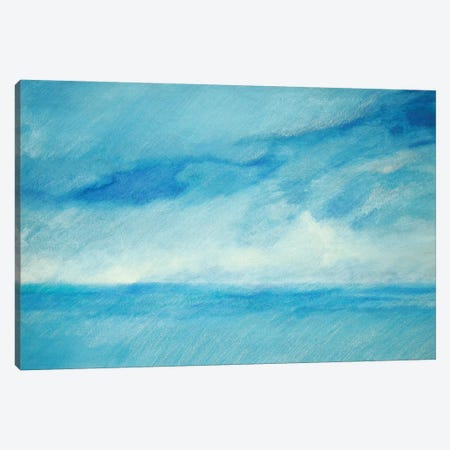 Sky And Sea III Canvas Print #SKD7} by Skadi Engeln Canvas Art