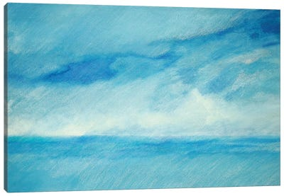 Sky And Sea III Canvas Art Print