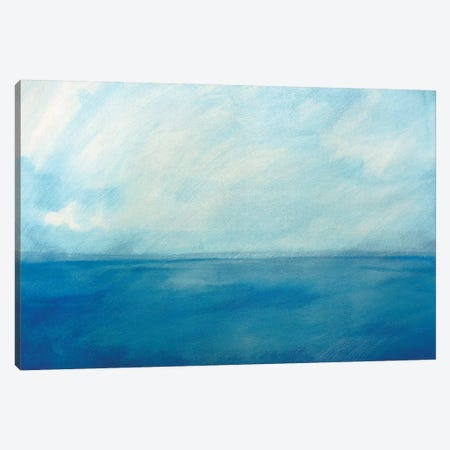 Sky And Sea VI Canvas Print #SKD8} by Skadi Engeln Canvas Art Print