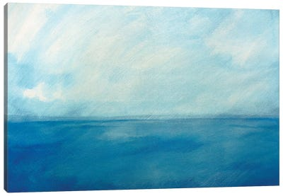 Sky And Sea VI Canvas Art Print