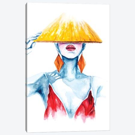 Summer Canvas Print #SKF39} by Shokoufeh Attari Canvas Art Print