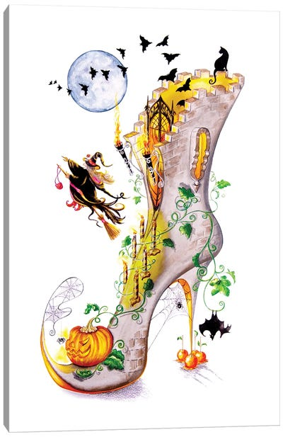 All Hallows Party Canvas Art Print