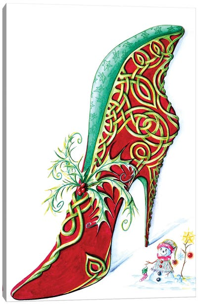 Celtic Yule Canvas Art Print