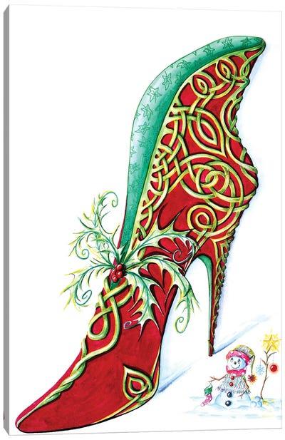 Celtic Yule Canvas Art Print