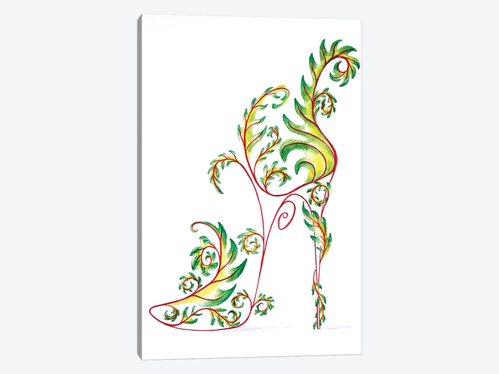 Dryad Shoe by Sally King Design 1-piece Canvas Artwork