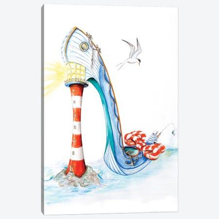 All At Sea Canvas Print #SKG2} by Sally King Design Canvas Wall Art
