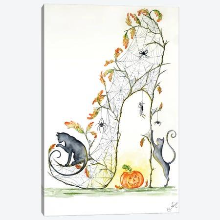 Gossamer Slipper Canvas Print #SKG30} by Sally King Design Canvas Artwork