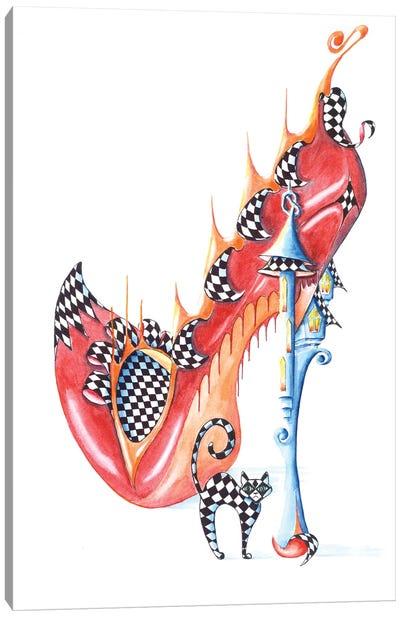 Heggertys Shoe Canvas Art Print