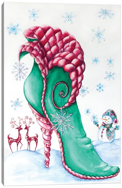Nordic Christmas Canvas Art Print