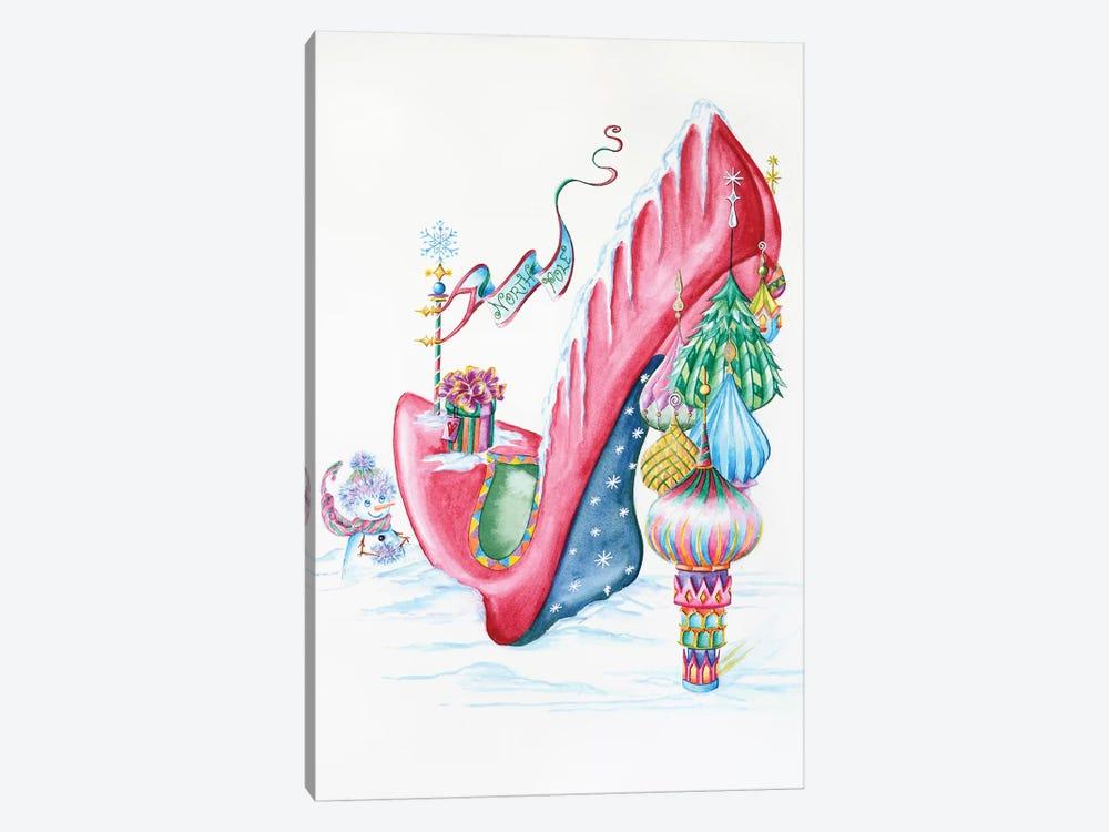 North Pole by Sally King Design 1-piece Art Print