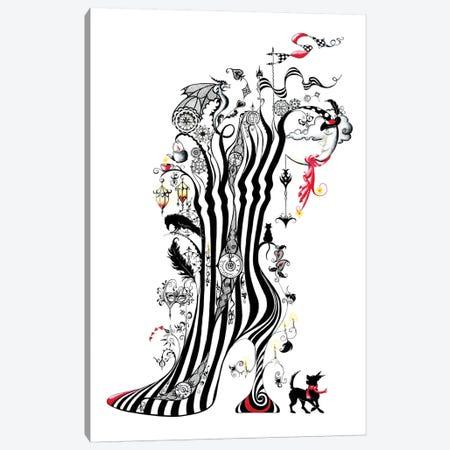 Rêver Canvas Print #SKG47} by Sally King Design Canvas Artwork