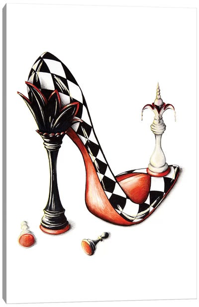 Checkmate Canvas Art Print