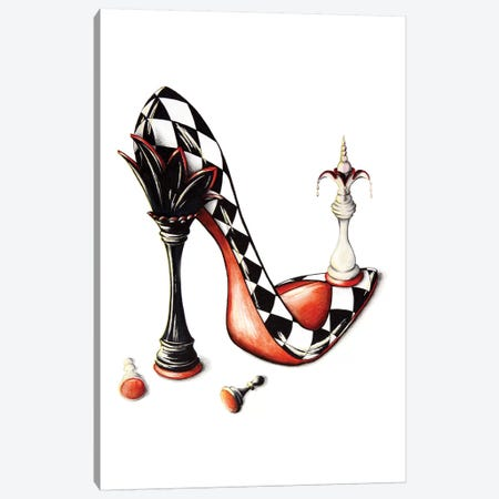 Checkmate Canvas Print #SKG4} by Sally King Design Art Print