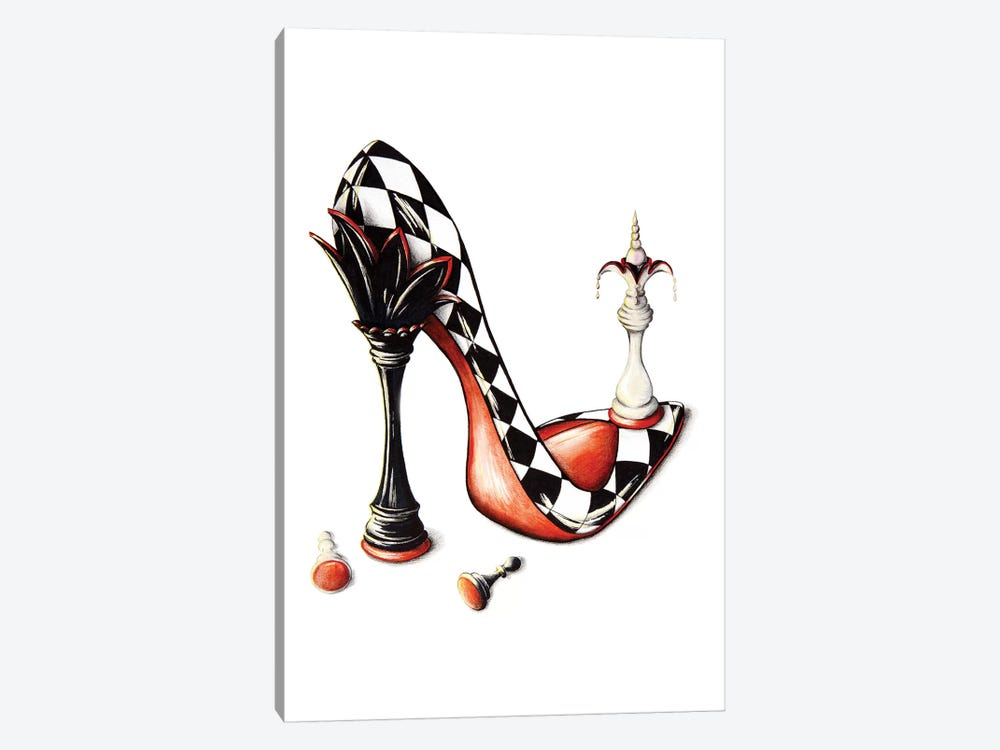 Checkmate by Sally King Design 1-piece Art Print