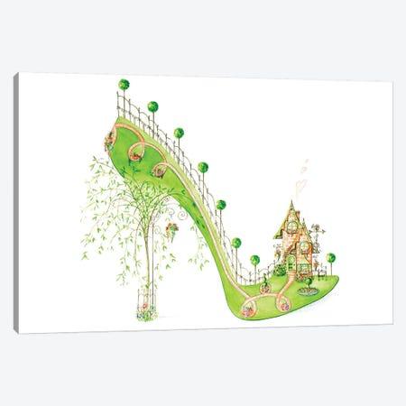 Walk Home Canvas Print #SKG59} by Sally King Design Canvas Wall Art
