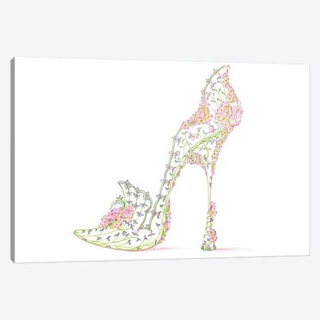 Wedding Slipper Canvas Print #SKG60} by Sally King Design Canvas Print
