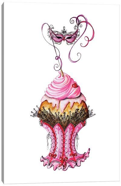 Carnival Cupcake Canvas Art Print