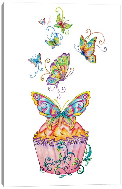 Come For Tea Canvas Art Print