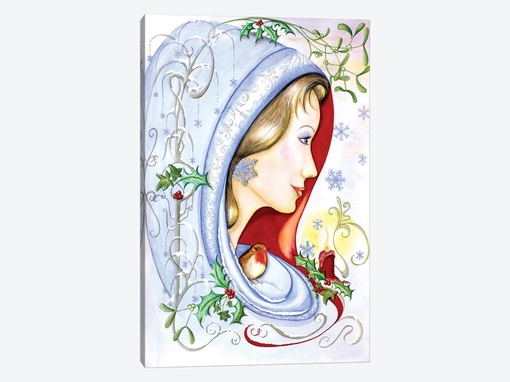 Winter by Sally King Design 1-piece Canvas Artwork