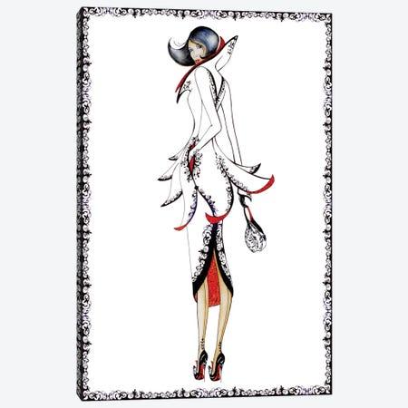 Paris Canvas Print #SKG83} by Sally King Design Canvas Print