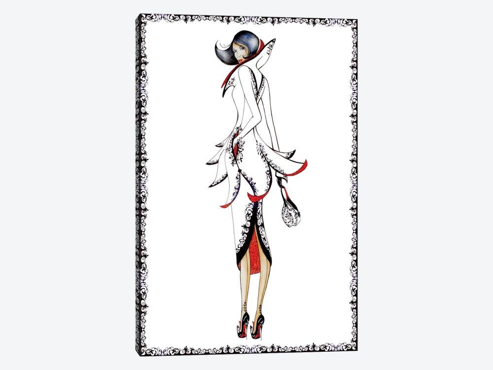 Paris by Sally King Design 1-piece Art Print
